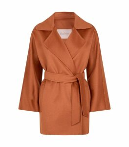 Cashmere Belted Coat