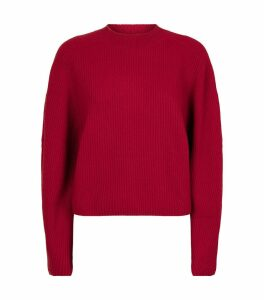 Wool-Cashmere Ribbed Sweater