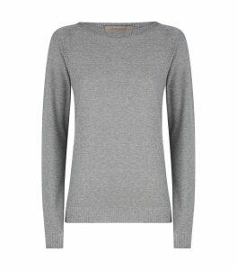 Metallic Thread Knitted Sweater