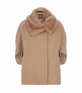 Mink Collar Cape