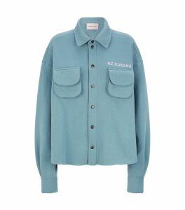 Collared Jersey Shirt