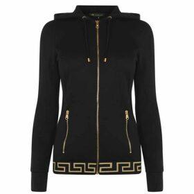 Versace Greek Key Zip Hoodie