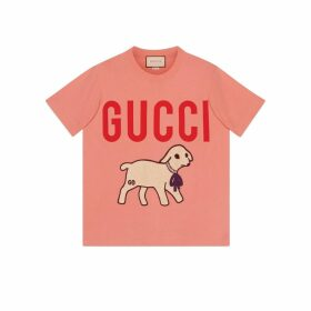 T-shirt with Gucci lamb