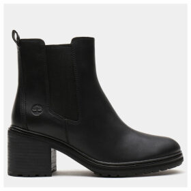 Timberland Sienna High Chelsea For Women In Black Black, Size 4