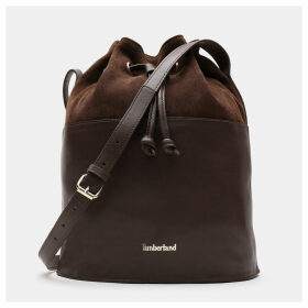 Timberland Terrace Pines Bucket Bag For Women In Brown Brown, Size ONE