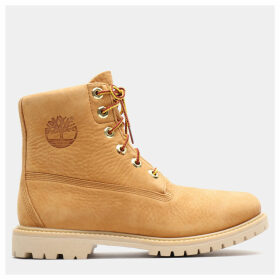 Timberland Collarless 6 Inch Boot For Women In Yellow Yellow, Size 9
