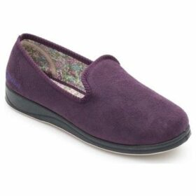 Padders  Repose Womens Fully Lined Slippers  women's Slippers in Purple