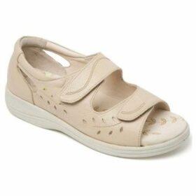 Padders  Heatwave Womens Riptape Sandals  women's Sandals in Beige