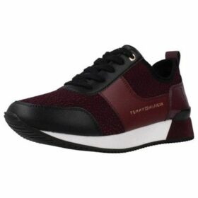 Tommy Hilfiger  FW0FW04306  women's Shoes (Trainers) in Purple