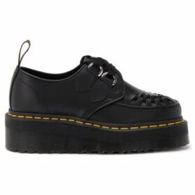 Dr Martens  Sidney low lace-up shoe in black leather with wedge  women's Casual Shoes in Black