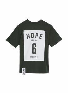 'Series 1 to 10' oversized unisex T-shirt - 6 Hope
