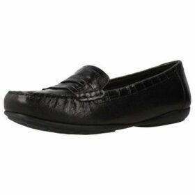 Geox  D ANNYTAH M0C  women's Loafers / Casual Shoes in Black