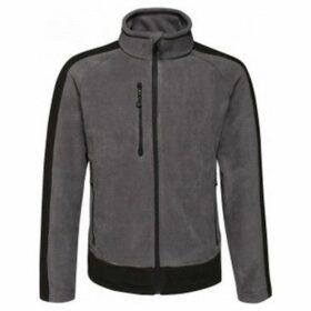 Regatta  Mens Contrast Fleece Jacket  women's Sweatshirt in Grey