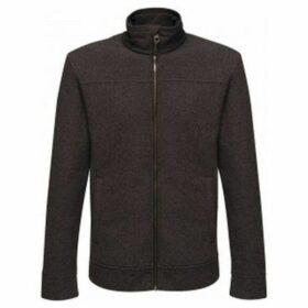 Regatta  Mens Parkline Full Zip Fleece Jacket  women's Sweatshirt in Black