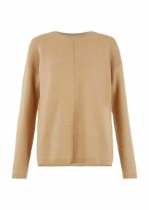 Lauren Merino Wool Blend Sweater Vicuna