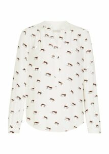 Kira Shirt Ivory Multi 18