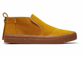 TOMS Butternut Suede Women's Paxton Slip-Ons Shoes - Size UK9