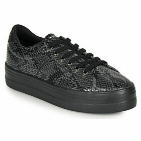No Name  PLATO SNEAKER  women's Shoes (Trainers) in Black