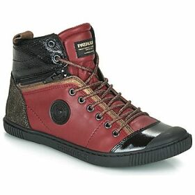 Pataugas  BANJOU  women's Shoes (High-top Trainers) in Red