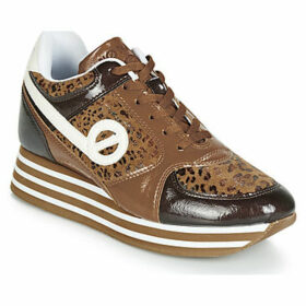 No Name  PARKO JOGGER  women's Shoes (Trainers) in Brown