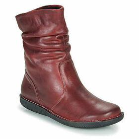 Casual Attitude  FILLY  women's Mid Boots in Red