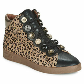 Mam'Zelle  BADIA  women's Shoes (High-top Trainers) in Brown