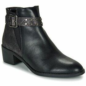 Moony Mood  FLOURETTE  women's Mid Boots in Black