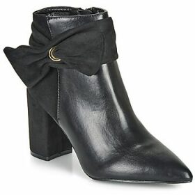 Moony Mood  FALABEL  women's Low Ankle Boots in Black