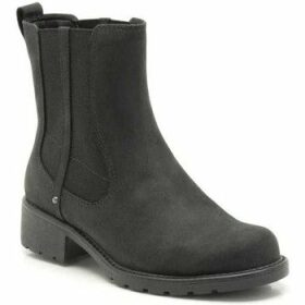 Clarks  Orinoco Club Wide Womens Casual Boots  women's Mid Boots in Black