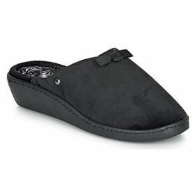 Isotoner  97216  women's Slippers in Black