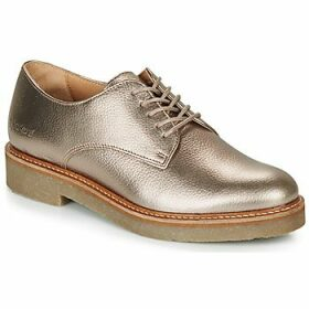 Kickers  OXFORK  women's Casual Shoes in Silver
