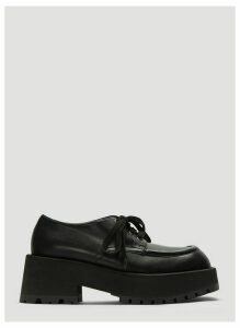 Marni Lace-Up Leather Shoes in Black size EU - 40