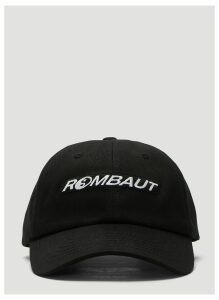 Rombaut Logo Baseball Cap in Black size One Size