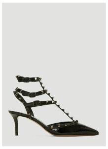 Valentino Rockstud Court Heels in Black size EU - 40