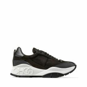 RAINE Sneaker aus schwarzem Wildleder, Leder Mix und Nylon