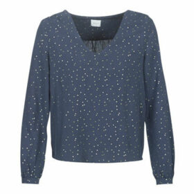 Vila  VIGIULIA  women's Blouse in Blue