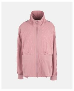 Stella McCartney Pink Blush Performance Track Top, Women's, Size M