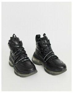 Miss Sixty hiker trainer-Black