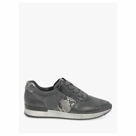 Gabor Lulea Leather Zip Trainers