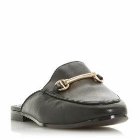 Dune Wf Geenee Metal Saddle Trim Loafers