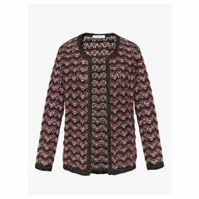 Gerard Darel Stockholm Chevron Pattern Cardigan, Multi