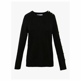 Gerard Darel Siam Wool Mix Jumper, Black