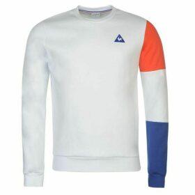 Le Coq Sportif Tri Sleeve Crew Sweatshirt