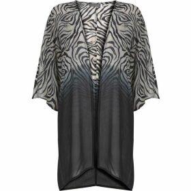 Mint Velvet Naomi Zebra Print Kimono