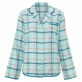Cyberjammies Sea breeze check pj top