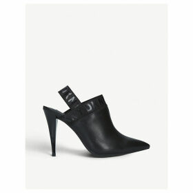 Kris slingback leather courts