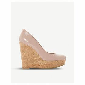 Alycea - suede wedge sandal