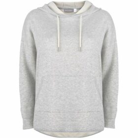 Mint Velvet Grey Double Knitted Hoodie