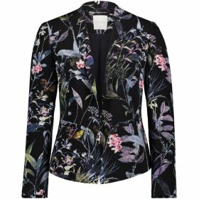 Betty Barclay Floral Print Crêpe Blazer