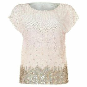 Damsel in a Dress Graduated Sequin Top